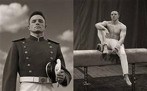 aaron jackson, gymnast, usma #1 & #2 by anderson & low