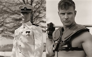 christopher dingman, lacrosse player, usna #1 & #2 by anderson & low