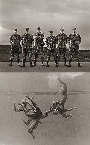 water polo players, usafa #1 & #2 by anderson & low