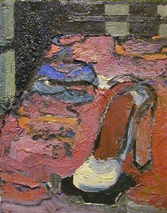 portrait of a shoe #2 by joan brown