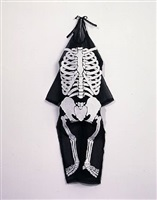 untitled (halloween: skeleton costume) by george stoll