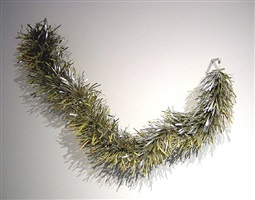 untitled (christmas: garland, green) by george stoll