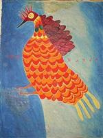 apocalyptic bird by ilija basicevic bosilj
