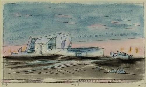 iceberg by lyonel feininger