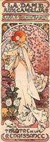 la dame aux camélias by alphonse mucha