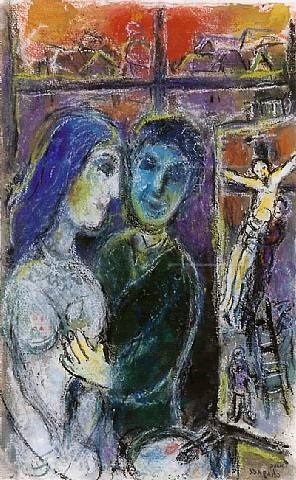 untitled (479) by marc chagall