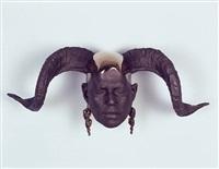 <!--61-->ram's head (wall) by rona pondick