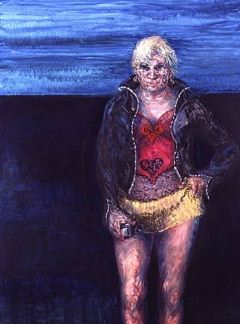 night portrait by maggi hambling