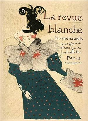 le revue blanche by henri de toulouse-lautrec