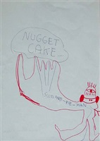 nugget cake by jonathan meese