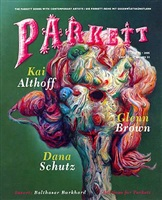 parkett, no. 75: collaboration: dana shutz kai althoff glenn brown isbn 3-907582-35-7, $32.00
