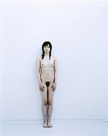 standing full nude series 7 by yoshihiko ueda