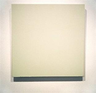 white painting by joseph marioni