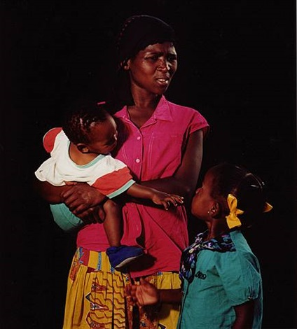 philla vusani with children by trevor appleson