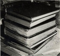 stack of books by lance letscher