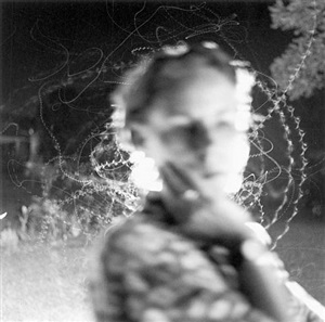 edith and moth flight by emmet gowin