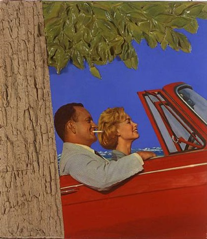 landscape #3 by tom wesselmann
