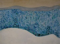 blue forest by milton avery