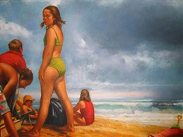 on the beach by sidney goodman