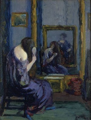 before the mirror by leon kroll