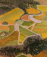 napa valley composite ii by yvonne jacquette