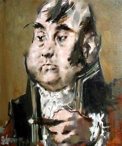modern napoleon by jack levine