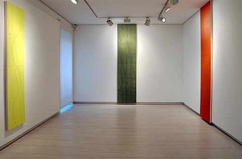 exhibition view by robert mangold