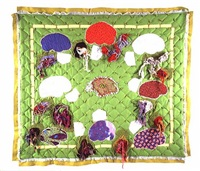 the brain quilt by christian holstad