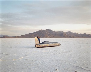 danny boy, bonneville salt flats by richard misrach