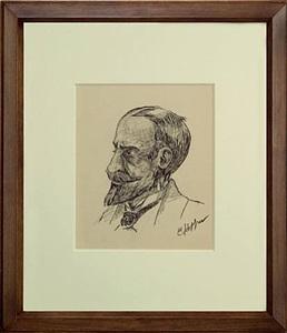 portrait head by edward hopper
