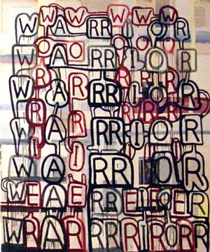 warrior/worrier by graham gillmore