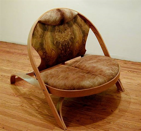 chair / chair by richard artschwager