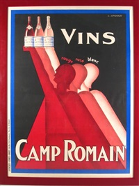 vins rouge, rose, blanc- camp romain by claude gadoud