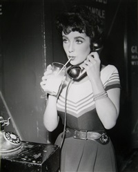 offstage with liz taylor by metro-goldwin-mayer studios