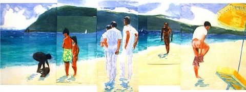 the year of the drowned dog by eric fischl