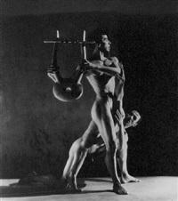 orpheus (nicolas magallanes and francisco moncion) by george platt lynes