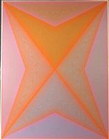 inward eye, portfolio of 10 serigraphs by richard anuszkiewicz