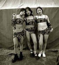 three country strippers, houshentai, henan province by liu zheng