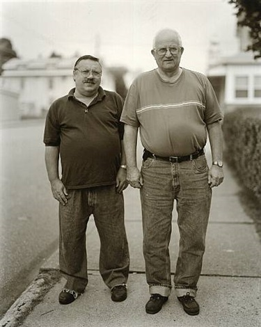 frank mancini and joe wessel, freeland, pennsylvania by judith joy ross