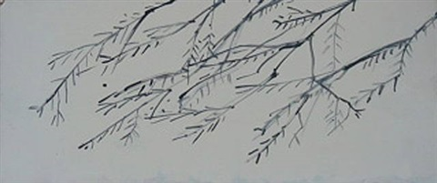 winter #2 by alex katz