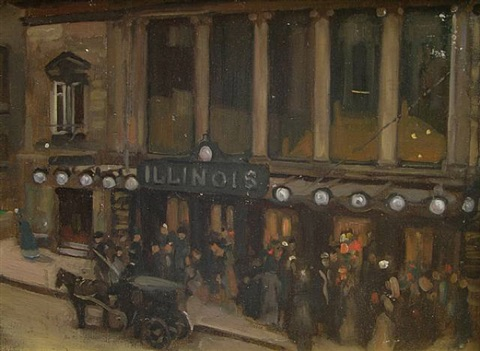 illinois theater by alson skinner clark