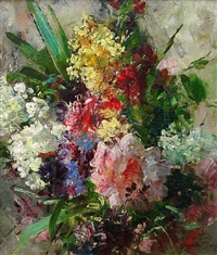 summer bouquet, circa 1883 by abbott fuller graves