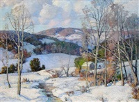 winter in new ipswich, new hampshire by william jurian kaula