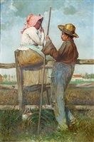 harvesters at rest by harry herman roseland