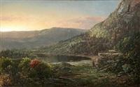 adirondak pioneers, circa 1865 by william louis sonntag