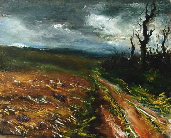 le champ, 1932 by maurice de vlaminck