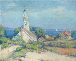 provincetown, old chrysler museum by mabel may woodward