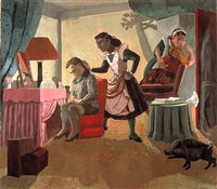 the maids by paula rego