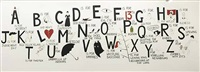 an alphabet of bad luck, doom and horror by donald urquhart