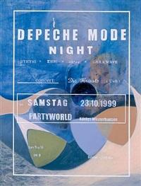 depeche mode night by lucy mckenzie